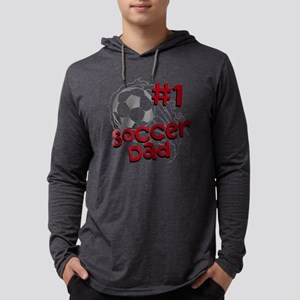 #1 Soccer Dad Mens Hooded Shirt