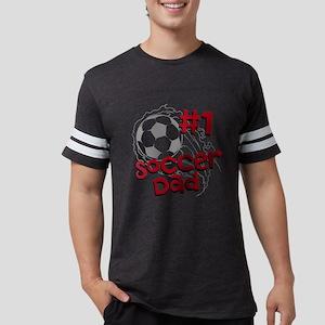 #1 Soccer Dad Mens Football Shirt