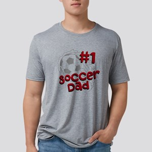 #1 Soccer Dad Mens Tri-blend T-Shirt