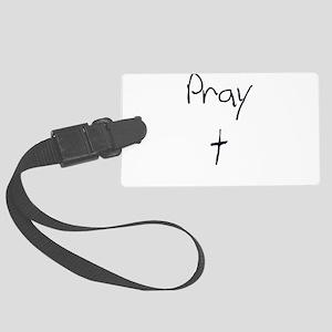 pray Luggage Tag