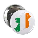 "Map Of Ireland w/Flag Colors 2.25"" Button"
