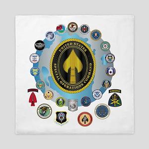 USSOCOM - SFA Queen Duvet