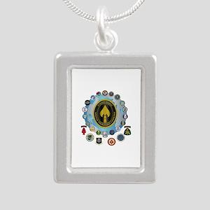 USSOCOM - SFA Silver Portrait Necklace