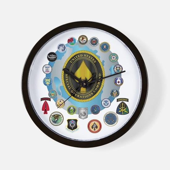 USSOCOM - SFA Wall Clock