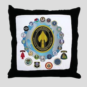 USSOCOM - SFA Throw Pillow