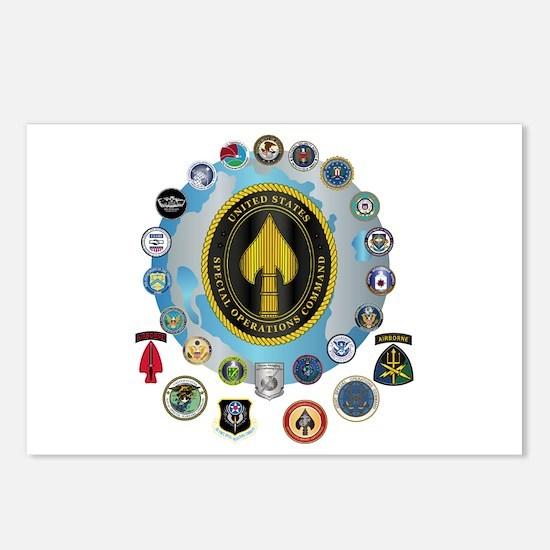USSOCOM - SFA Postcards (Package of 8)