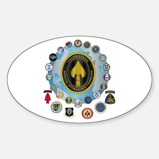 USSOCOM - SFA Sticker (Oval)