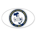 EOD Mobile Unit 8 Sticker (Oval)
