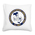 EOD Mobile Unit 8 Square Canvas Pillow