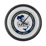 EOD Mobile Unit 8 Large Wall Clock