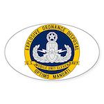 EOD Mobile Unit 11 Sticker (Oval)