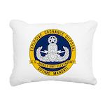 EOD Mobile Unit 11 Rectangular Canvas Pillow