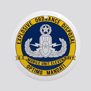 EOD Mobile Unit 11 Ornament (Round)