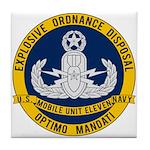 EOD Mobile Unit 11 Tile Coaster