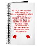 Love Story Journal