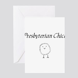 Presbyterian chick Greeting Card