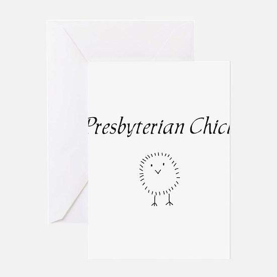 Presbyterian chick.png Greeting Card