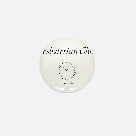 Presbyterian chick.png Mini Button