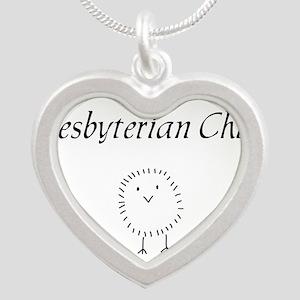 Presbyterian chick Silver Heart Necklace