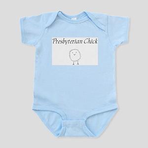 Presbyterian chick Body Suit