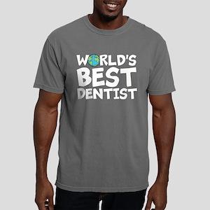 World's Best Dentist Mens Comfort Colors Shirt
