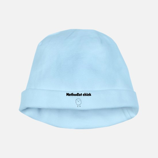 methodist chick.png baby hat