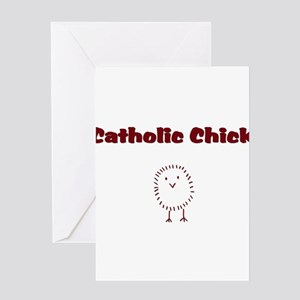 catholicchickrd Greeting Card