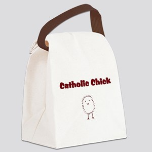 catholicchickrd Canvas Lunch Bag