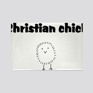christianchick Rectangle Magnet
