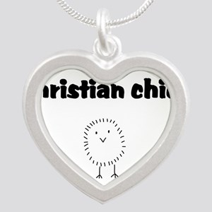 christianchick Silver Heart Necklace