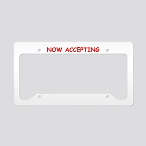 SUGAR License Plate Holder