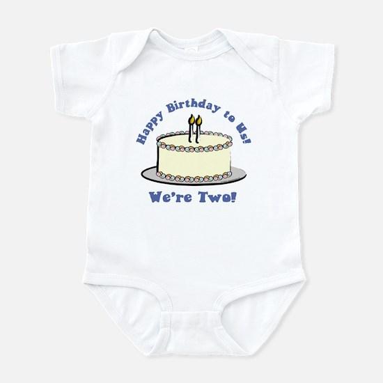 Happy Birthday!  We're 2! Infant Bodysuit
