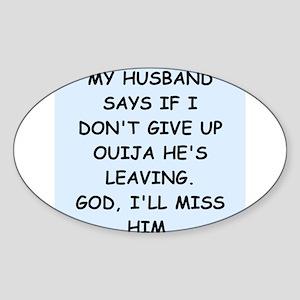 OUIJA Sticker