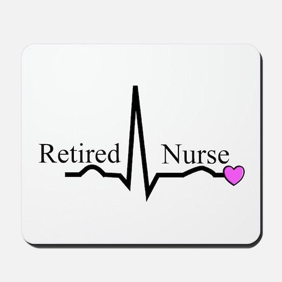 Retired Nurse QRS Mousepad