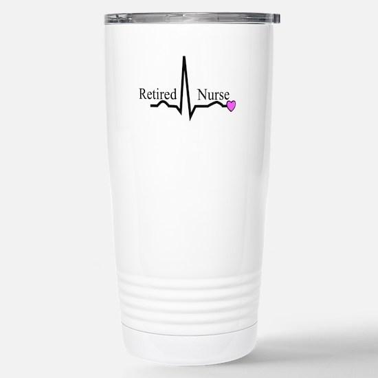 Retired Nurse QRS Travel Mug