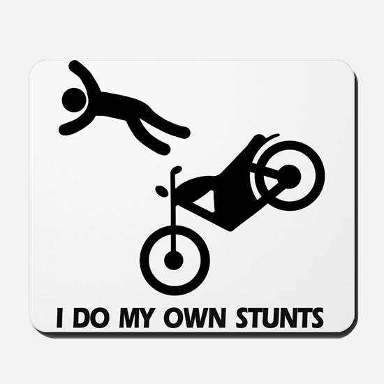 Motorcycle, motorcycle stunts Mousepad