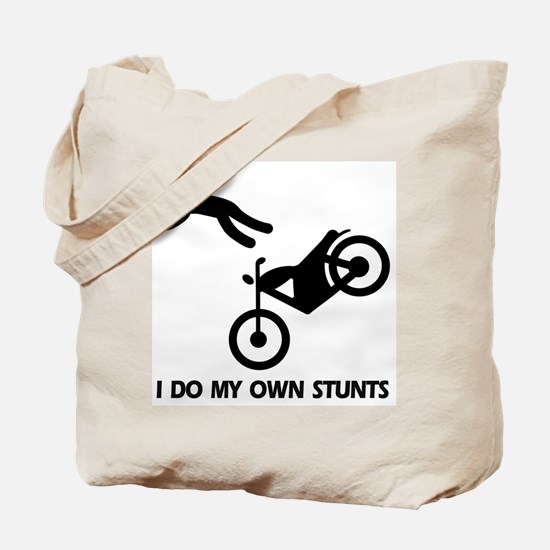 Motorcycle, motorcycle stunts Tote Bag