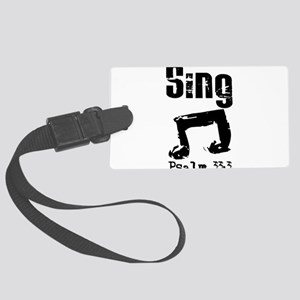 sing psalm 33 Luggage Tag