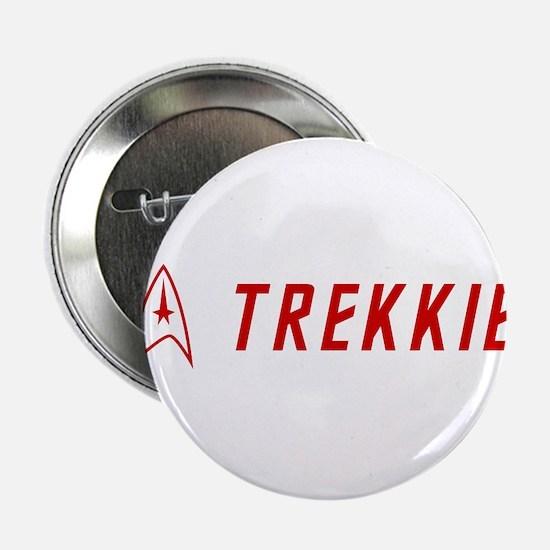 """Trekkie Red 2.25"""" Button"""