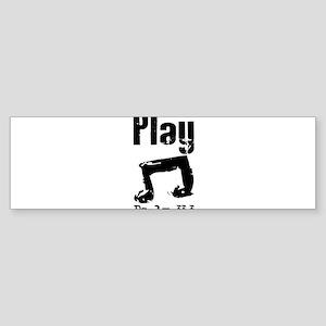 play psalm 33.png Bumper Sticker