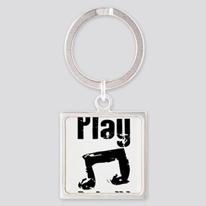 play psalm 33 Square Keychain