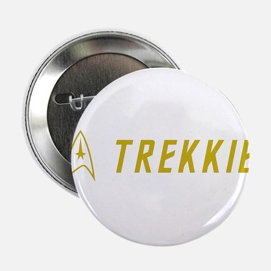 """Trekkie Yellow 2.25"""" Button"""