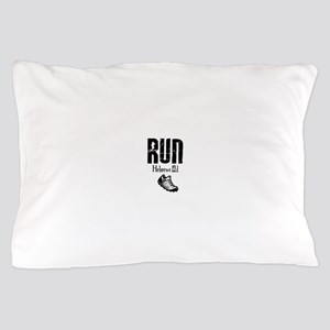 run hebrews Pillow Case