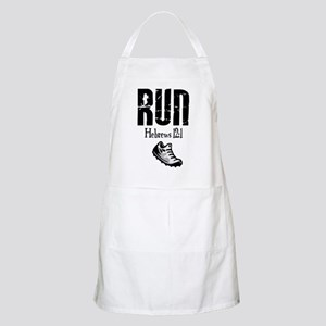 run hebrews Apron