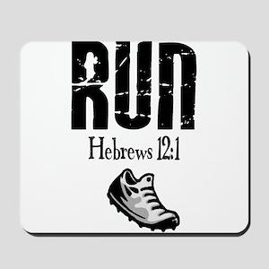 run hebrews.png Mousepad