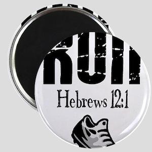 run hebrews Magnet