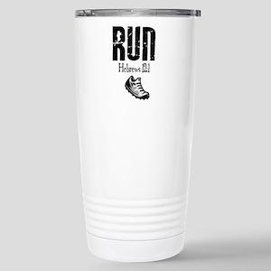 run hebrews Travel Mug