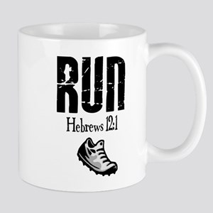 run hebrews Mug