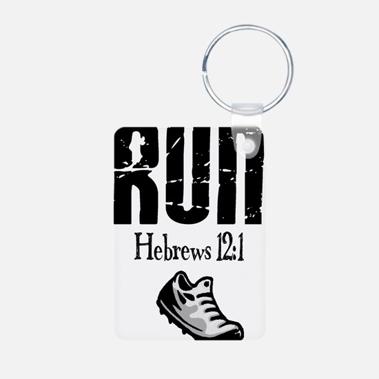 run hebrews.png Keychains