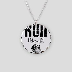 run hebrews.png Necklace
